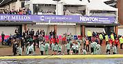 Putney - Chiswick, London,  Great Britain.<br /> <br /> 2016 University Boat Race, Oxford vs Cambridge, Putney. Putney  to Mortlake, Championship Course. River Thames.<br /> <br /> Sunday  27/03/2016 <br /> <br /> [Mandatory Credit; Peter SPURRIER/Intersport-images]