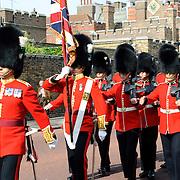 Changing of the Royal Guard at Buckingham Palace on Markborough Road
