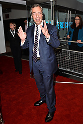© Licensed to London News Pictures. 11/05/2016. Guests including IAIN DUNCAN SMITH, NIGEL FARAGE and  MICHAEL GOVE attend the screening of Brexit: The Movie.<br /> London, UK. Photo credit: Ray Tang/LNP