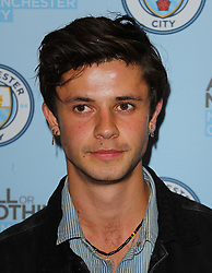 Cel Spellman arriving for the All or Nothing: Manchester City, world premiere at Vue Printworks, Manchester.