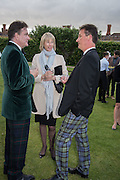 ROBERT WILSON;; ZARA GORDON LENNOX; TORQUHIL IAN CAMPBELL, DUKE OF ARGYLL;, Perdurity: A Moving Banquet of Time. Royal Salute curates a timeless evening at Hampton Court Palace with Marcos Lutyens, 2 June 2015.