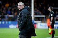 Peterborough United manager Steve Evans shouts out orders  during the EFL Sky Bet League 1 match between Peterborough United and Oxford United at London Road, Peterborough, England on 8 December 2018.