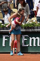 June 9, 2018 - Paris, France, France - Amelie Mauresmo et ses enfants - son fils Aaron et sa fille Ayla (Credit Image: © Panoramic via ZUMA Press)