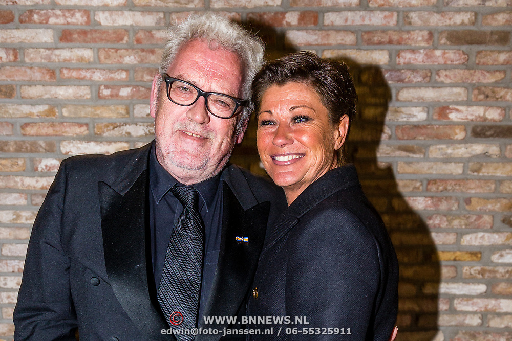 NLD/Amsterdam//20170410 - Free a Girl Celebrity Night, Ernst Daniël Smid en partner Aly Burgers