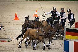 Exell Boyd, (AUS), Cabus, Clinton Star, Costa 49, Hermes 140, Tw<br /> Concours Hippique International de Genève 2014<br /> © Hippo Foto - Dirk Caremans