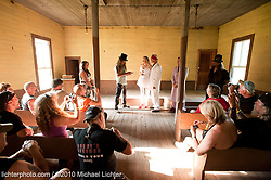 Biker Wedding, Reliance, TN. 2010<br /> <br /> Limited Edition Print from an edition of 30. Photo ©2010 Michael Lichter.