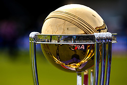 The Cricket World Cup trophy - Mandatory by-line: Robbie Stephenson/JMP - 18/06/2019 - CRICKET- Old Trafford - Manchester, England - England v Afghanistan - ICC Cricket World Cup 2019 group stage