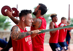 Josh Brownhill of Bristol City works out in the gym - Mandatory by-line: Matt McNulty/JMP - 20/07/2017 - FOOTBALL - Tenerife Top Training Centre - Costa Adeje, Tenerife - Pre-Season Training