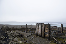 July 21, 2019 - Remains Of The Northumberland House, Sir John Franklin Expedition, Nunavut, Canada (Credit Image: © Richard Wear/Design Pics via ZUMA Wire)