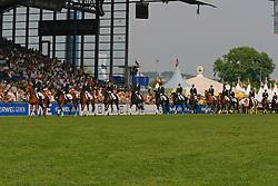 Opening ceremony<br /> Show Landelijke ruiterij (LRV)<br /> Vlaanderen partnerland 2009<br /> CHIO Aachen 2009<br /> Photo © Dirk Caremans