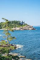 Acadia National Park Rugged Coastline,Maine, USA.