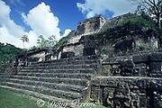 Mayan Temple of the Sun, Altun Ha ruins, Belize ( Central America )