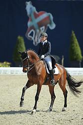 Vaughan Joanne, (GEO), Elmegardens Marquis<br /> Qualification Grand Prix Special<br /> Horses & Dreams meets Denmark - Hagen 2016<br /> © Hippo Foto - Stefan Lafrentz