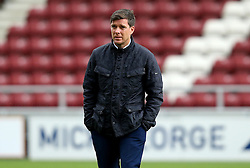 Darrell Clarke manager of Bristol Rovers arrives at Sixfields for the Sky Bet League One fixture with Northampton Town - Mandatory by-line: Robbie Stephenson/JMP - 01/10/2016 - FOOTBALL - Sixfields Stadium - Northampton, England - Northampton Town v Bristol Rovers - Sky Bet League One