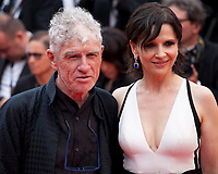 Christopher Doyle and Juliette Binoche at L'amant Double gala screening at the 70th Cannes Film Festival Friday 26th May 2017, Cannes, France. Photo credit: Doreen Kennedy