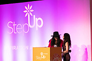 Kalen Aubry, and Founder of Step Up Women's Network Kaye Popofsky Kramer