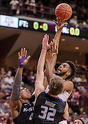 Men's basketball game between Kansas State and Texas A&M on Saturday, Dec. 12, 2015, at Reed Arena in College Station, Texas. (Thomas Campbell for the Texas A&M Athletics)