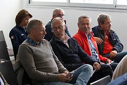 Draw for the Nations Cup<br /> Dirk Demeersman (BEL), Rob Ehrens (NED), Andy Kilstler (SUI) <br /> Longines Jumping International de La Baule 2015<br /> © Hippo Foto - Dirk Caremans<br /> 14/05/15