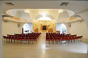 Israel, Tel Aviv, Beit Daniel, Tel Aviv's first Reform Synagogue the empty prayer hall