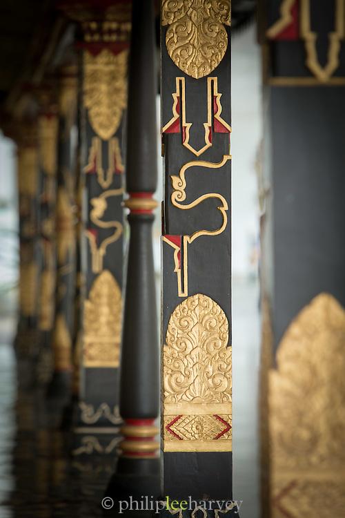 Ornamental Balustrades Kraton of Yogyakarta, Yogyakarta, Yogyakarta Special Region, Java, Indonesia, Southeast Asia