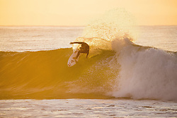 July 12, 2017 - Conner Coffin of the USA getting in a morning freesurf at Supertuebs during the first layday of the Corona Open J-Bay...Corona Open J-Bay, Eastern Cape, South Africa - 12 Jul 2017. (Credit Image: © Rex Shutterstock via ZUMA Press)