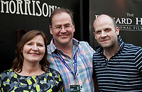 Christopher Bolton and guests  at the Richard Harris International Film Festival short film screening at the 70th Cannes Film Festival, Wednesday 24th May 2017, Morrison's Irish Pub, Cannes, France