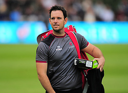 Jim Allenby of Somerset looks on.  - Mandatory by-line: Alex Davidson/JMP - 15/07/2016 - CRICKET - Cooper Associates County Ground - Taunton, United Kingdom - Somerset v Middlesex - NatWest T20 Blast