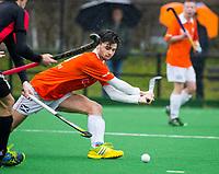 20170319 BLOEMENDAAL - landelijke jeugdcompetitie Bloemendaal Jongens JA1-Schaerweijde jongens JA1 (2-8). Stijn Koning van Bloemendaal.  COPYRIGHT KOEN SUYK