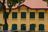 Facade of the central committee building, Hanoi, Vietnam, Southeast Asia