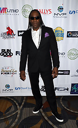 "Booker T arriving for the One Step Closer ""All In For CP"" celebrity charity poker event held at Ballys Poker Room, Ballys Hotel & Casino, Las Vegas, December 9, 2018"