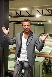 © London News Pictures. 12/04/2012. TV chef Gino D'Acampo. Photocall at the opening of the BBC Good Food Show at Glow Bluewater, Kent Picture credit should read Manu Palomeque/LNP