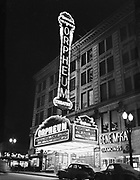 ackroyd-09280-3. Orpheum Theater. August 31, 1959 (SW Broadway between Morrison and Yamhill, now the site of Nordstroms.)