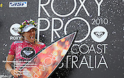 Gold Coast, Australia - March 6: Steph Gilmore winner of the Roxy Pro Gold Coast 2010 at Snapper Rocks on the Gold Coast, March 6, 2010 Photo by Matt Roberts/MATTRimages.com.au | Image ID: MTR_0745.jpg