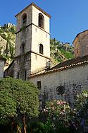 St Mary's Koledata Church (1221) Kotor Montenegro
