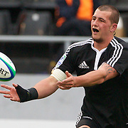 Blade Thomson, New Zealand, in action during the New Zealand V South Africa semi final match at Estadio El Coloso del Parque, Rosario, Argentina, during the IRB Junior World Championships. 17th June 2010. Photo Tim Clayton....