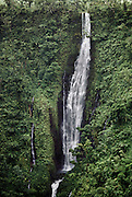 Papapapai Tai waterfall near Poutasi Village, Western Samoa. Material World Project.