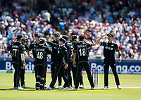 Cricket - 2019 ICC Cricket World Cup - Group Stage: England vs. NZ<br /> <br /> Kane Williamson of New Zealand catches from Trent Boult of New Zealand to put out Jos Butler of England, at the Riverside, Chester-le-Street, Durham.<br /> <br /> COLORSPORT/BRUCE WHITE