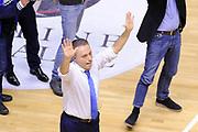 DESCRIZIONE : Brindisi  Lega A 2015-16<br /> Enel Brindisi Pasta Reggia Juve Caserta<br /> GIOCATORE : Piero Bucchi<br /> CATEGORIA : Postgame Ritratto Esultanza<br /> SQUADRA : Enel Brindisi<br /> EVENTO : Campionato Lega A 2015-2016<br /> GARA :Enel Brindisi Pasta Reggia Juve Caserta<br /> DATA : 24/04/2016<br /> SPORT : Pallacanestro<br /> AUTORE : Agenzia Ciamillo-Castoria/D.Matera<br /> Galleria : Lega Basket A 2015-2016<br /> Fotonotizia : Brindisi  Lega A 2015-16 Enel Brindisi Pasta Reggia Juve Caserta<br /> Predefinita :