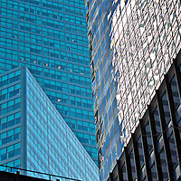 Textured Geometry - Buildings creating a fabric