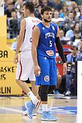 DESCRIZIONE : Berlino Berlin Eurobasket 2015 Group B Italy Serbia<br /> GIOCATORE :  Alessandro Gentile<br /> CATEGORIA : Fair play ritratto<br /> SQUADRA : Italy<br /> EVENTO : Eurobasket 2015 Group B <br /> GARA : Italy Serbia<br /> DATA : 10/09/2015 <br /> SPORT : Pallacanestro <br /> AUTORE : Agenzia Ciamillo-Castoria/I.Mancini <br /> Galleria : Eurobasket 2015 <br /> Fotonotizia : Berlino Berlin Eurobasket 2015 Group B Italy Serbia