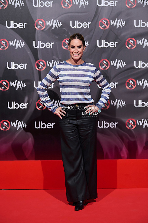 Ainhoa Arbizu attends 'Wah' Musical Show World Premiere Red Carpet at IFEMA on October 7, 2021 in Madrid, Spain