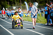 Over 700 athletes competed in the Cabarrus County Special Olympics Spring Games at the Cabarrus Arena and Events Center on April 13, 2017. Photo by Wendy Yang Photography
