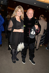 CAROLE ASHBY and STEVEN BERKOFF at a dinner hosted by Liberatum to honour Francis Ford Coppola held at the Bulgari Hotel & Residences, 171 Knightsbridge, London on 17th November 2014.
