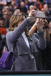 November 2, 2018 - Paris, France - Mirka Federer femme de Roger Federer  (Credit Image: © Panoramic via ZUMA Press)