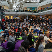 London, UK. 3rd September 2017. Family, friends, and supporters attend to see the Finalists compete for each other of the Mayor Of London Gigs at Westfield London.