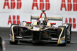 April 28, 2018 - Paris, Ile-de-France, France - Germany's André Lotterer of the Formula E team Techeetah competes during the French stage of the Formula E championship around The Invalides Monument close to The Eiffel Tower in Paris on April 28, 2018. (Credit Image: © Michel Stoupak/NurPhoto via ZUMA Press)