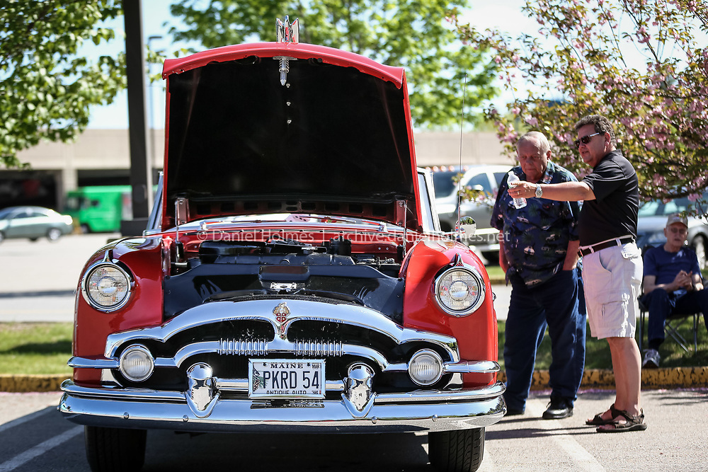 (5/17/14, MARLBOROUGH, MA) A 1954 Packard convertible was on display during the Mustang Club of New England's 3rd annual American Iron Cruise Night  at the Solomon Pond Mall in Marlborough on Saturday. Daily News and Wicked Local Photo/Dan Holmes