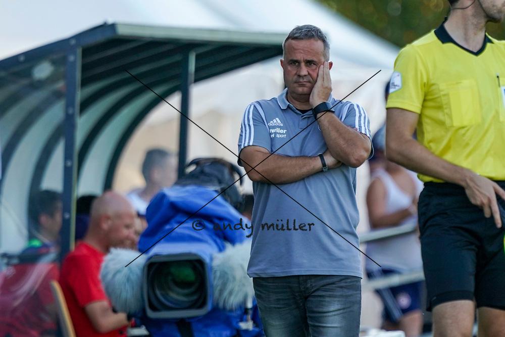 15.09.2019; Wohlen; FUSSBALL SCHWEIZER CUP - FC Wohlen - FC Luzern;<br /> Trainer Thomas Jent (Wohlen) <br /> (Andy Mueller/freshfocus)
