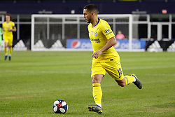 May 15, 2019 - Foxborough, MA, U.S. - FOXBOROUGH, MA - MAY 15: Chelsea FC forward Eden Hazard (10) looks for help during the Final Whistle on Hate match between the New England Revolution and Chelsea Football Club on May 15, 2019, at Gillette Stadium in Foxborough, Massachusetts. (Photo by Fred Kfoury III/Icon Sportswire) (Credit Image: © Fred Kfoury Iii/Icon SMI via ZUMA Press)