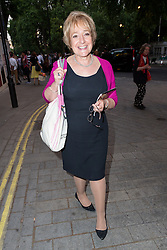 © Licensed to London News Pictures. 18/06/2015. London, UK. Margaret Hodge leaving the press night for 1984 at the Playhouse Theatre, Northumberland Avenue in London tonight. Photo credit : Vickie Flores/LNP